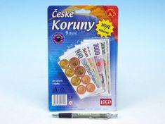Alexander ČESKÉ KORUNY s mincemi-peníze do hry
