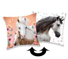Jerry Fabrics ukrasni jastuk sa šljokicama Konj 01