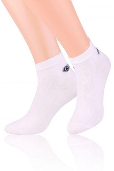 Pánske ponožky 046 white, biela, 41/43