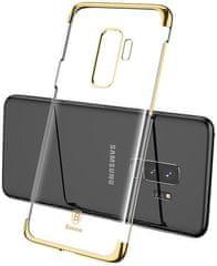BASEUS Glitter Series iznimno čvrsta maska za Samsung S9+, zlatna, WISAS9P-DW0V