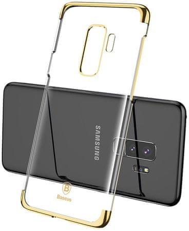 BASEUS Glitter Series izjemno trden ovitek za Samsung S9+, zlat, WISAS9P-DW0V
