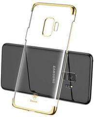 BASEUS Glitter Series iznimno čvrsta maska za Samsung S9, zlatna, WISAS9-DW0V