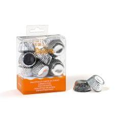 Decora Košíčky na bonbony stříbrné 27x17mm