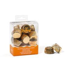 Decora Kočíšky na bonbony zlaté 27x17mm