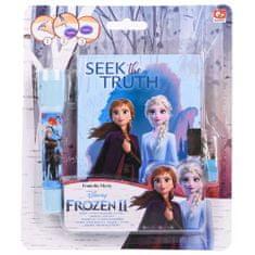 Frozen 2 dnevnik za skrivnosti + UV pisalo