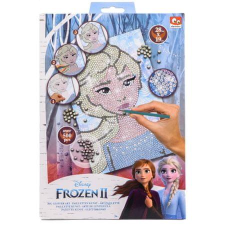 Frozen 2 set za ustvarjanje z bleščicami, velik