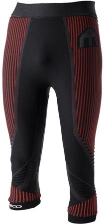 Mico Man 3/4 Tight Pants M1 Nero Rosso S/M (I)