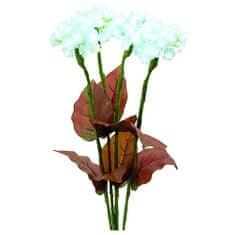 Europalms Hortenzia , Hortenzia s kvetmi, biele, 100 LEDs
