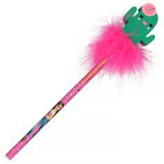 Top Model Ceruzka s gumou ASST, Kaktus, ružové páperie