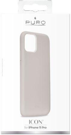 Puro Icon ovitek za iPhone 11 Pro, siv