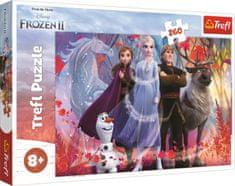 Trefl Puzzle Ľadové kráľovstvo 2: Cesta za dobrodružstvom 260 dielikov