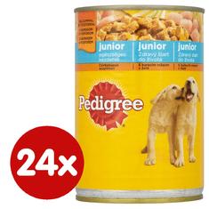Pedigree Konzerva s kuřecím v želé pro štěňata 24x400 g