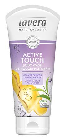 Lavera TusfürdőActive touch Bio gyömbér és Bio maccsa (Body Wash Gel) 200 ml