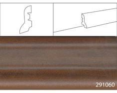 Effector Soklové lišty MDF - 40 x 20 mm, 291060 ORECH