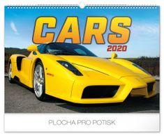 Nástěnný kalendář Auta 2020