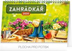 Stolní kalendář Zahrádkář CZ 2020, 23,1 x 14,5 cm