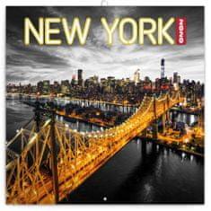 Poznámkový kalendář New York 2020