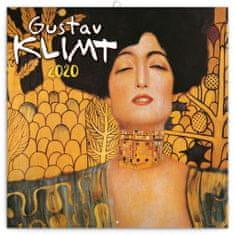 Poznámkový kalendář Gustav Klimt mini 2020