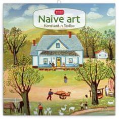 Poznámkový kalendář Naivní umění – Konstantin Rodko 2020