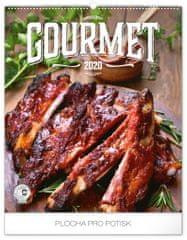 Nástenný kalendár Gourmet 2020, 48 x 56 cm
