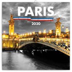 Poznámkový kalendář Paříž 2020