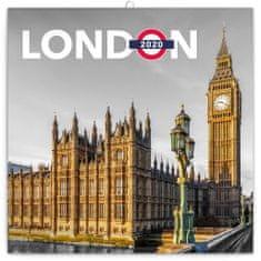 Poznámkový kalendář Londýn 2020