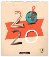 Nástenný kalendár Dominik Miklušák 2020, 48 x 56 cm