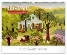 Nástěnný kalendář Naivní umění – Konstantin Rodko 2020
