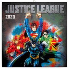 Poznámkový kalendář Justice League 2020
