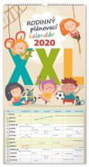 Nástěnný kalendář Rodinný plánovací XXL SK 2020