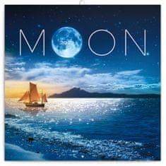 Poznámkový kalendář Měsíc 2020
