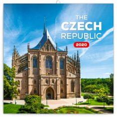 Poznámkový kalendář Česká republika mini 2020