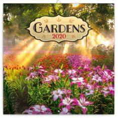 Poznámkový kalendář Zahrady 2020
