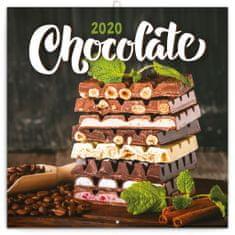 Poznámkový kalendář Čokoláda 2020
