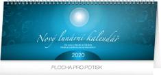 Stolní kalendář Nový lunární kalendář CZ 2020, 33 x 12,5 cm