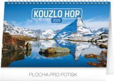 Stolní kalendář Kouzlo hor CZ 2020, 23,1 x 14,5 cm