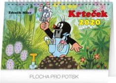 Stolní kalendář Krteček CZ 2020, 23,1 x 14,5 cm