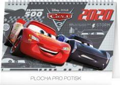Stolní kalendář Auta 3 CZ 2020, 23,1 x 14,5 cm