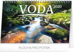 Stolový kalendár Voda CZ/SK 2020, 23,1 x 14,5 cm
