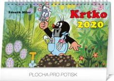 Stolový kalendár Krtko SK 2020, 23,1 x 14,5 cm