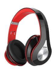 MPOW Bezdrátová sluchátka MPOW 059 - červeno-černá