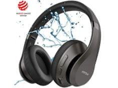 MPOW Bezdrátová sluchátka MPOW H20 - červeno-černá