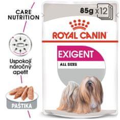 Royal Canin Exigent Dog Loaf hrana za pse v vrečkah, 12x 85 g
