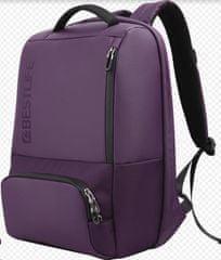 BESTLIFE Batoh Neoton s pojistkou na 15,6″ notebook BL-BB-3401R-1, fialový