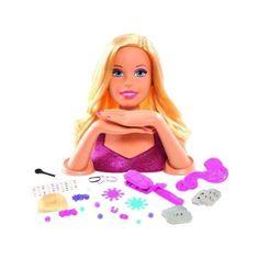 Giochi Preziosi česací hlava Barbie Deluxe