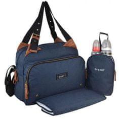 Baby On Board střední tašková sada na dětské potřeby - modrá
