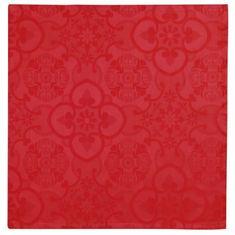 Vent Du Sud čtvercový ubrus - červený, 47 x 47 cm