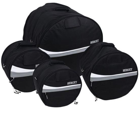 Herget Economy Elegant Fusion Set Grey Súprava obalov na súpravu bicích