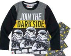 TVM Dětské pyžamo Lego Star Wars Stormtroopers bavlna černé Velikost: 116 (6 let)