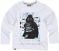 TVM Dětské tričko Lego Star Wars Darth Vader bavlna bílé Velikost: 128 (8 let)